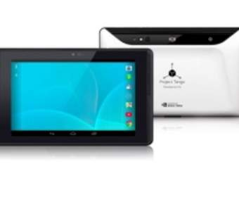 Первый планшет Google Tango будет представлен в 2015 году