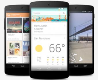 Google официально представили смартфон Nexus 5