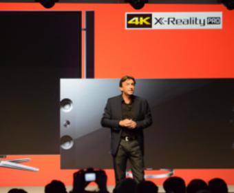 Sony представила первый в мире 4K OLED-телевизор