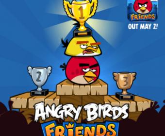 Мобильная версия Angry Birds Friends доступна со 2 мая