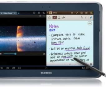 Samsung разработала 12,2-дюймовый планшет Galaxy Note
