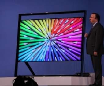 Как выглядит уникальный 85-дюймовый телевизор от Samsung