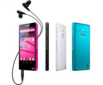 Sony представила два новых MP3-плеера под управлением ОС Android