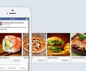 Facebook будет интегрировать новый тип объявлений в приложениях