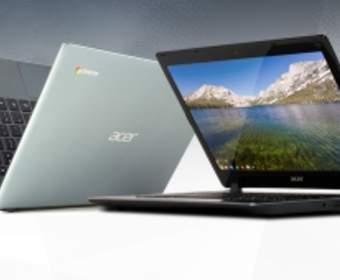 Acer представила новый ноутбук с платформой Chrome OS
