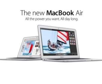 Новая серия MacBook Air будет иметь процессор Haswell