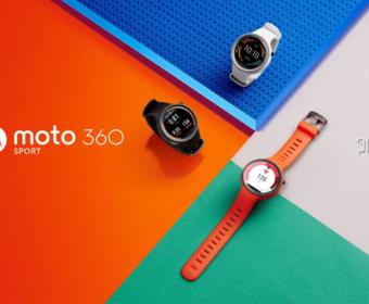Умные часы Motorola Moto 360 Sport начнут продаваться в Европе в конце декабря за 280 евро в рублях