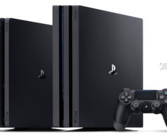 PlayStation 4 Pro – новая мощная консоль от Sony с поддержкой 4K и жестким диском на 1 Тб