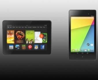Amazon Kindle Fire HDX и Google Nexus 7 – какой из этих двух планшетов лучше