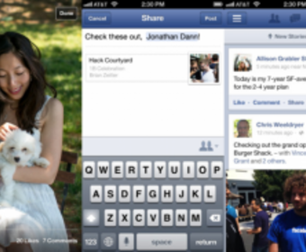Facebook представила новые приложения для IOS и Android OS