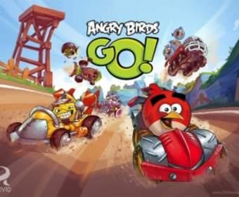 Игра Angry Birds Go! доступна для скачивания