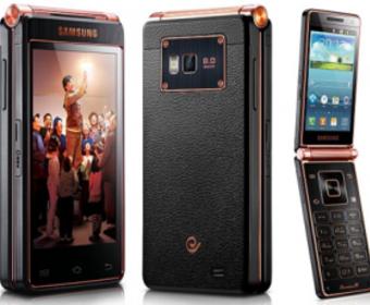 Стал известен внешний вид смартфона Samsung Galaxy Folder