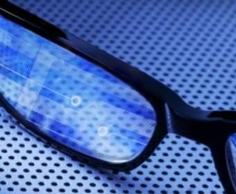 Fujitsu разработали уникальные «умные очки» со встроенным лазером