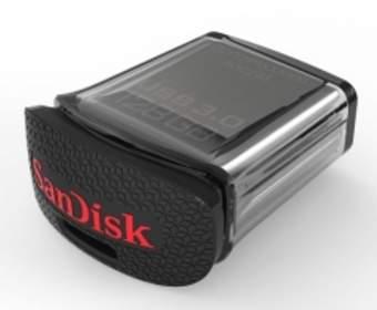 SanDisk представили самую маленькую в мире USB флешку со 128 Гб памяти