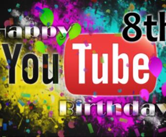Сегодня YouTube отпраздновал свой восьмой день рождения