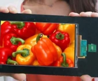 LG создала первый Quad HD-дисплей для смартфонов