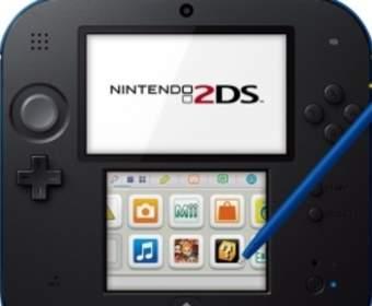 Консоль Nintendo 2DS будет продаваться с октября по цене в 100 евро