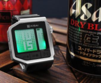 Японцы сделали часы с алкотестером