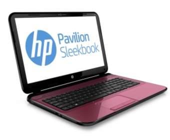 HP представит три новых ноутбука с ОС Windows 8