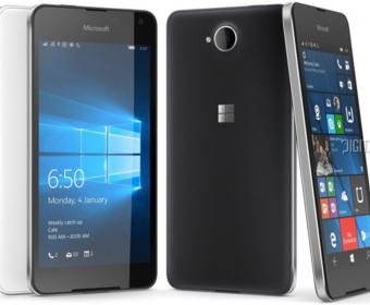 Microsoft официально представили Lumia 650