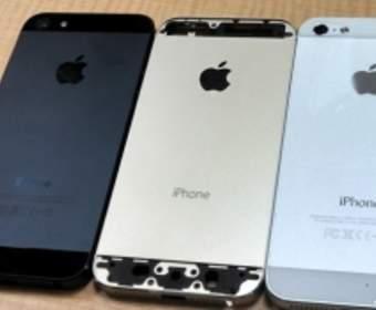 Золотая версия iPhone 5S появилась на фотографиях