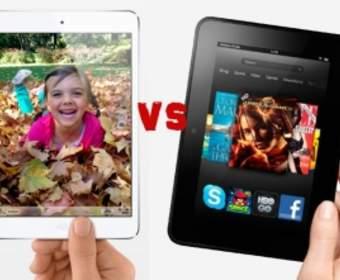 Могут ли таблетки Kindle Fire HD конкурировать с IPad Mini?