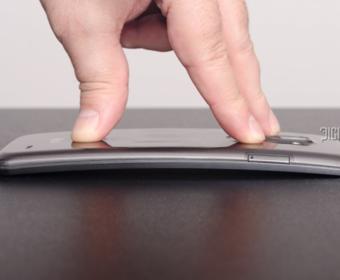 LG разработали новое поколение Android-смартфонов с изогнутыми дисплеями
