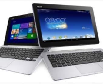 Компания Asus разработала планшет с поддержкой двух операционных систем