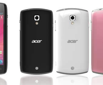 Acer Liquid Glow с Android 4.0 и 3.7-дюймовым экраном 800х480 появится к лету