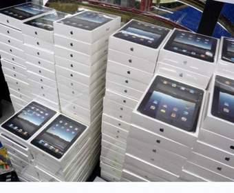 Скоро первая поставка Apple iPad 3 в США