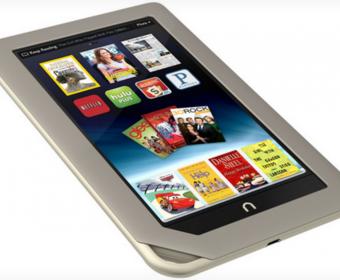 Планшет Barnes & Noble Nook Tablet работает до 11.5 часов и стоит $250