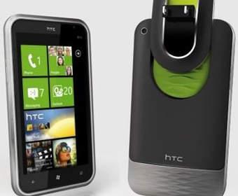 Концепт смартфона HTC Magnesium с дополнительной батареей