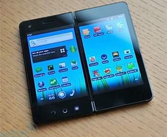 Android-смартфон будет иметь два дисплея