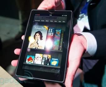Новый Kindle Fire появится в продаже через месяц