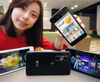 Смартфон LG Optimus 3D Cube оредактирует 3D-видео