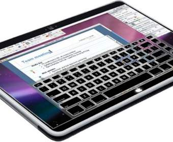 Концепт MacBook Touch