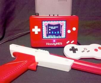 Прекрасный портативный мод NES