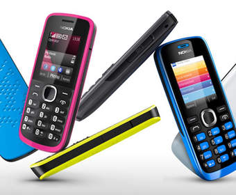 Бюджетные Nokia 110 и Nokia 112 на Series 40 и две SIM