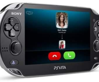 Приставка PS Vita теперь поддерживает и видеозвонки
