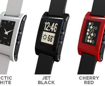Умные часы Pebble c e-ink дисплеем и синхронизацией с iOS- и Android-устройствами