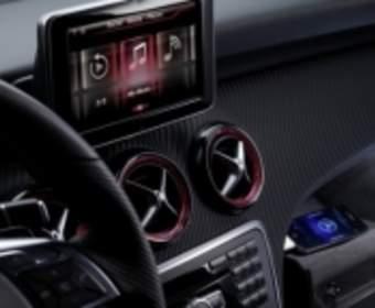 Mercedes внедрит поддержку голосового помощника в модели Siri A-Class