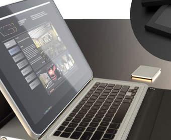Split: концепт ноутбука будущего