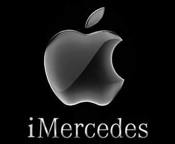 Концепт автомобильного интерфейса Mercedes-Benz для iPhone Interface Plus