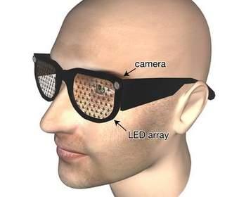 Бионические очки распознают лица и препятствия