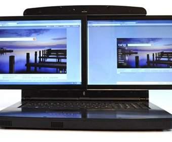 gScreen SpaceBook: два дисплея по 17 дюймов