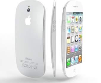 Обтекаемый корпус концепта iPhone 5