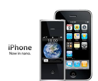 iPhone PRO с креплением для объективов и подставки с пико-проектором