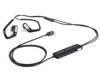 Sennheiser сделала черную версию своих трехмерных аудио наушников для Apple Store