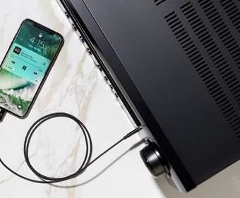 Belkin 3,5 мм Lightning кабель обеспечивает возможность ретро-подключения