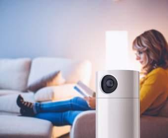 Toshiba's Symbio - это и камера безопасности, и спикер Alexa